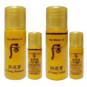 The history of Whoo Gongjinhyang In Yang Balancer (12pcs) + Lotion (12pcs) Total 24pcs
