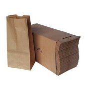 Duro Paper Bags, Sack Lunch Bags, 1.8kg., Brown, 500 Count