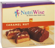 NutriWise - Caramel Nut Diet Protein Bars
