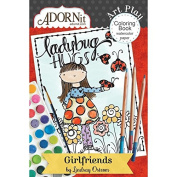 Girlfriends Mini Colouring Book