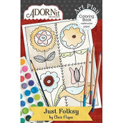 Just Folksy Mini Colouring Book