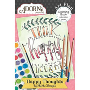 Happy Thoughts Mini Colouring Book