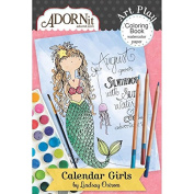 Calendar Girls Mini Colouring Book