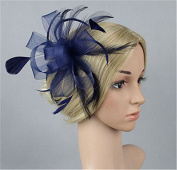 Meolin Womens Fascinator Hat with Clip and Brooch
