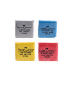 Pebble Art Kneaded Rubber Eraser - 1PC