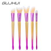 Makeup Brushes,ABCsell 5 pcs Blending Pencil Foundation Eye shadow Brushes Makeup Brushes Eyeliner Brushes