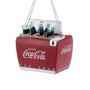 Kurt Adler Resin Cooler Coca-cola Christmas Ornament