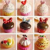 18PCS Play Food Pretend Food Sweet Cake Dessert Chocolate ice Cream for Kids Babie Doll American Girl Doll Toy