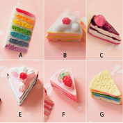 12PCS Play Food Pretend Food Sweet Cake Dessert Cream Sandwich for Kids Babie Doll American Girl Doll Toy