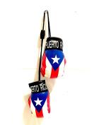 Boricua, Puerto Rico rearview mirror ,Puerto rican Boxing glove suv car truck for home or auto Classic Boricua Puerto Rico flag