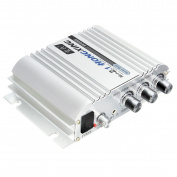 Car Amplifier, ELEGIANT 300W 12V Super Bass Mini Amplifier 2.1-Channel Auto Sound Enlarger Lightweight Hi-Fi CD iPod MP3 MP4 Car Audio Stereo Bass Amplifier