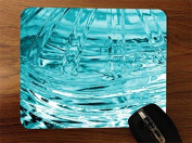 Ice Frozen Glass Freeze Desktop Office Silicone Mouse Pad by Moonlight Printing