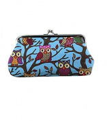 Yeah67886 Women Creative Owl Pattern Coin Purse Money Bag Wallet