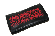 High Quality Faux Leather Tobacco Pouch - Violence