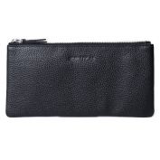 Genda 2Archer Leather Zipped Purse Long Phone Credit Card Holder Pouch