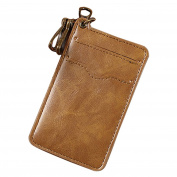 Retro Unisex Key Chain Card Holder Wallet Case Key Card Organiser Mini Bag New