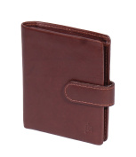 Real Leather Small Bifold Travel Oyster Bus Pass Holder Credit Card Wallet HLG17
