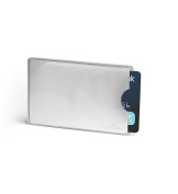 Durable 890023 RFID Secure Sleeve for Credit/Security ID Cards - Silver
