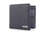 BOSS trifold wallet dkblue