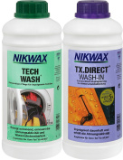 Nikwax Detergent Tech Wash TX Direct 2 x 1 L, transparent, 2, 30341