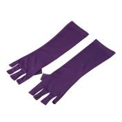 Anself Anti UV Glove Radiation Gloves Nail Art Protection Gloves for UV Light/Lamp Nail Dryer