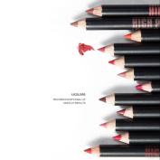 New Fashion Lipstick,Hunzed Women 12pcs/Set Waterproof Lip Liner Pencil Long Lasting Lipliner Makeup Tools