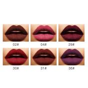 New Fashion Lipstick, Hunzed Women 6 Shades/Set Lip Lingerie Cosmetics Matte Lipstick Waterproof Lip Gloss Makeup