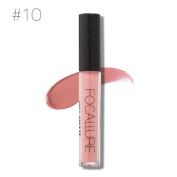 FOCALLURE New Fashion Lipstick, Hunzed Women Sexy Cosmetics Lips Matte Lip Gloss Party