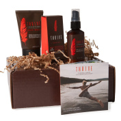 Thrive Own The Day Kit - 3 Piece Grooming Gift Set for Men to Wash, Shave, and Moisturise Daily; Made with Organic and Unique Premium Natural Ingredients for Healthier Skin Care