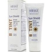 Sun shield warm tint sunscreen
