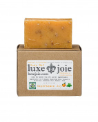 LuxeJoie Soap Bar Tangerine & Peppermint Certified Organic by Oregon Tilth