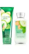 Bath & Body Works Cucumber Melon Body Cream & Lotion Set