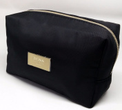 Hùgo B0SS Cosmetic Bag Makeup Travel Toiletry Black Pouch