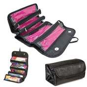 OraCorp Roll Up Folding Cosmetics and Toiletry Bag