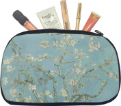 Apple Blossoms (Van Gogh) Makeup Bag - Medium