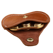 XILALU Portable Dustproof PU Leather Bag For Fidget Hand Spinner Triangle Finger Toy Focus ADHD Autism Bag Box Case