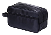 OraCorp Men's Basic Black Toiletry Bag
