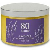 80 Acres Lavender Salt Scrub - 530ml by 80 Acres