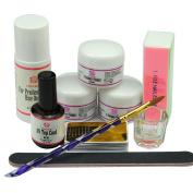 Coscelia Nail Art Acrylic Nail Powder Liquid Brush Manicure Sets
