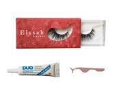 Voluminous 3D Mink Eyelashes + Lash Adhesive and Applicator Bundle