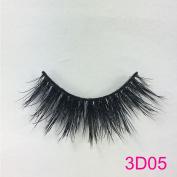 3D Mink Fur Fake Eyelashes Silk Angel Wing Natural Long Thick False Eyelashes for Makeup Softer than Real Mink fur Lashes