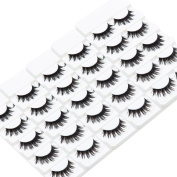 Wleec Beauty Fake Eyelashes Long Thicker False Eyelashes #04