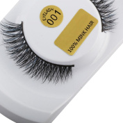 Pulison(TM) 3D Fake Eyelashes Mink Eye Lashes Lashes Natural Thick False Makeup Extensions