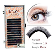 Russian Volume Lashes Extensions D Curl .07 Individual False Eyelashes Single And Mixed Total 4 Trays Makeup For Professional Eyelash Extensions