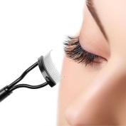 IBTS Mascara Guide Applicator Eyelash Comb Eyebrow Brush Curler Beauty Essential Tool