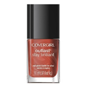 CoverGirl Outlast Stay Brilliant Nail Gloss, Totally Tulip, 0.37 Fluid Ounce by CoverGirl