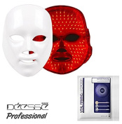 For Gift DEESSE Professional LED Beauty Mask, Home Aesthetic Mask, Self Skin Care, Only Red Colour LED SBT-MASK-STD (Made in Korea) + LJH Vital Firming Hydrogel Mask Sheet 50pcs Set