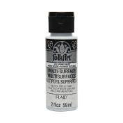 FOLKART Multi-Surface Chunky Glitter Paint, 60ml, Silver