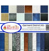 Ella & Viv by Reminisce Garment District Scrapbook Collection Kit