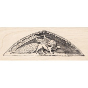 Gryphon Rubber Stamp Architectual Element